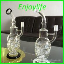 USA Hot Selling Schädel Design Glas Rohre, Glas Wasser Rohr auf Lager