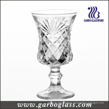 4oz Footed Engraved Wine Glass Cup (GB040304ZH)