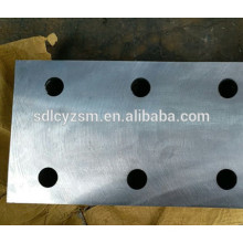 Fish plate T89 and T90/Elevator part for guide rail