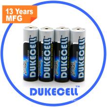 1.5V Lr6 AA Alkaline Battery China Market of Electronic