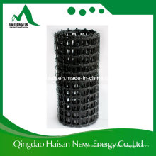 2017 40-40kn/M PP Plastic Raw Material Biaxial Geogrid for Plastic Retaining Wall