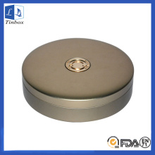 Round Best CD Storage Metal Gift Case