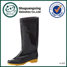 man shoe rubber gumboots manufacturers A-902