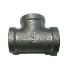 "1/2"" Equal Banded Galvanized Tee Malleable Iron Pipe Fittings"