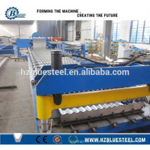 Tile Forming Machine Type And Wall Use Barrel Type Iron Corrugated roof Sheet Making Machine / Corrugated Roll Forming Machine