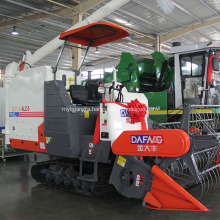 automatic unloading grain rice harvesting equipment