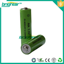 msds dry battery rechargeable r6 aa battery 1.5v