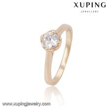 13808 Xuping оптом простой дизайн кольца перста