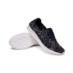 Mens Fashion Woven Sneakers