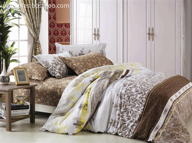 Cotton Pigment Printed Bedding Set