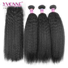100% Brazilian Hair Bundles with Closure