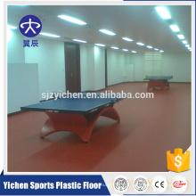 Orgânico e 100% puro PVC virgem matérias-primas pvc esporte piso atacado