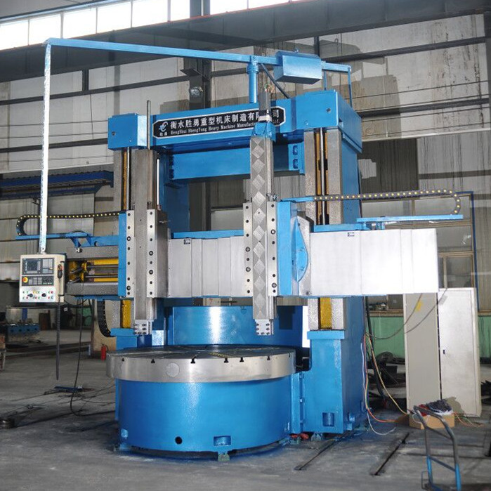 Industrial vertical lathes