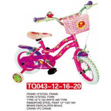 Pneu de ar branco da princesa Kid bicicleta