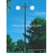 Galvanized street steel lamp post