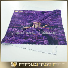 2014 heat transfer printing Microfiber cloth for glasses/lens/cell phone/mobile phone/camera/lenses/screens/binoculars