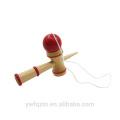 Frete grátis venda Quente cor sólida de bambu kendama