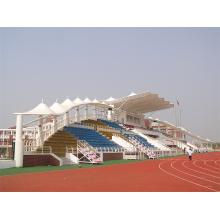 Estructura prefabricada de membrana para blanqueador, estadio, deportes, patio de juegos de azotea
