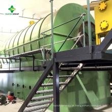 Máquina de pirólise para reciclar folha de alumínio Tetra pack para alumínio