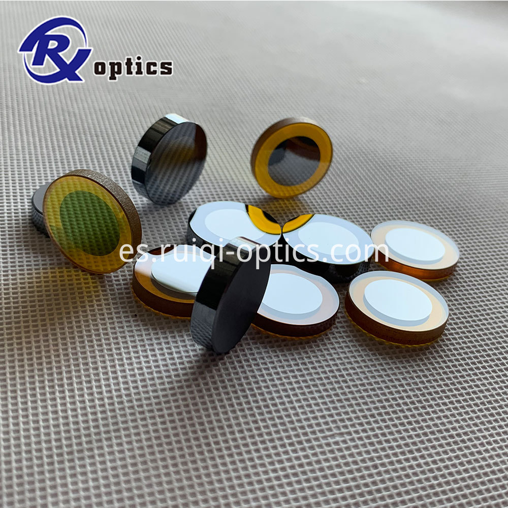 Znse ouput coupler lens and end mirror