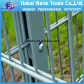 2D 868 powder coated double horizontal wire mesh fence
