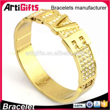Женские модели золотой браслет металл любовь браслет