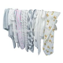 мультфильм Baby пеленальное одеяло Муслин пеленать обертывания бамбук