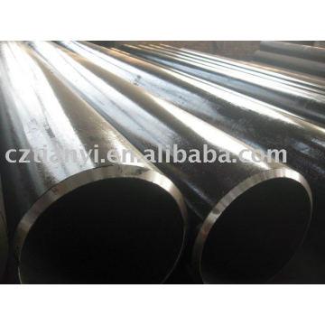 ASTM A106B SA53B tubos de acero al carbono sin soldadura