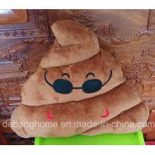 Плюшевая подушка Emoji в форме какашки