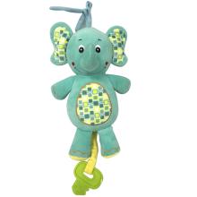 Plush Elephant Musical Toy