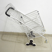Lightweight aluminum folding beach trolley with cover,Hand truck for sale