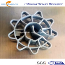 Rebar Protect Plastic Wheel Spacer for construction