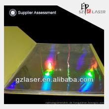 Professionelles Laser-Reinnickel-Plattenteil zum Prägen