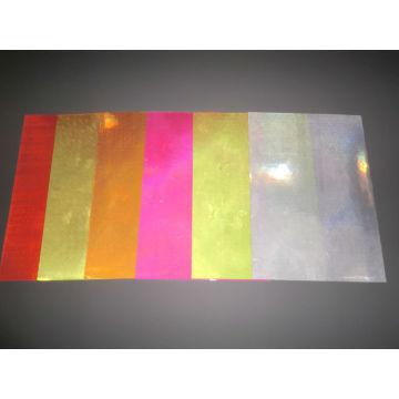 Reflective pvc sheeting