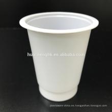 Los fabricantes chinos aduana imprimieron la taza plástica disponible de alta calidad 6oz / 180ml PP del logotipo