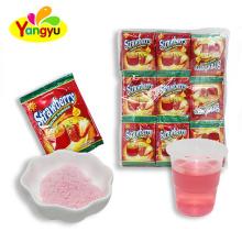 Halal Strawberry Flavor Instant Flavored Juice Drink Powder