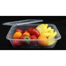Recipiente de alimento plástico da microonda para o armazenamento 750ml