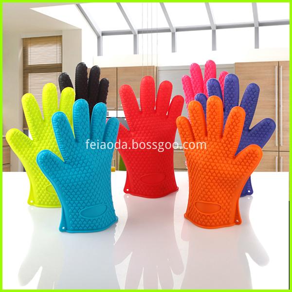 silicoen gloves