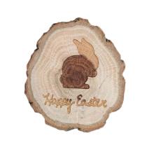 FQ marque animal mignon décoratif personnalisé en bois souvenir aimant réfrigérateur