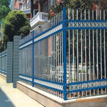 ISO9001 pvc welded zinc steel fence for sale