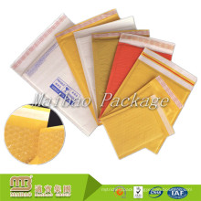 Customized Design Kraft Paper Bubble Lined CD/Cosmetics Padded Jiffy Bags / Post Office Mailing Bags