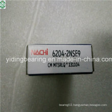 Red Rubber Seal Deep Groove Ball Bearing NACHI Japan 6204-2nse9