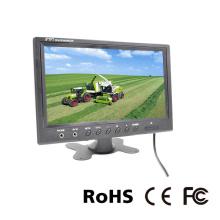 Moniteur LCD 9 pouces en voiture pour appuie-tête ou stationnement CCTV