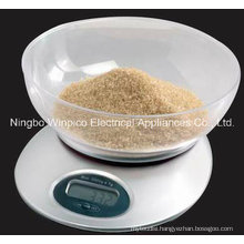 Electronic Kitchen Food Scales with Bowl