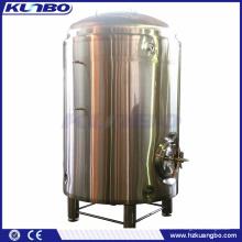 Réservoir de liquide d'eau chaude de la bière HLT de la couche KUNBO 1000L 2000L simple