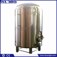KUNBO 1000L 2000L Single-layer Beer HLT Hot Water Liquid Tank
