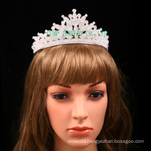 Direct Factory Rhinestone Tiara Clear Stone Crown For Wedding