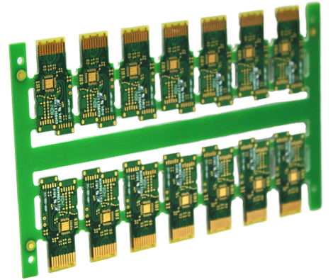 6-layer High Tg Leadless Gold Finger PCB