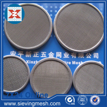 Sintered Wire Mesh Filter Disc