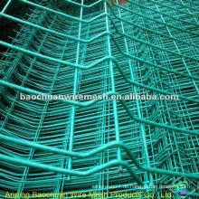 Green Dip Beschichtung Schutz geschweißt 3D Panel Zaun